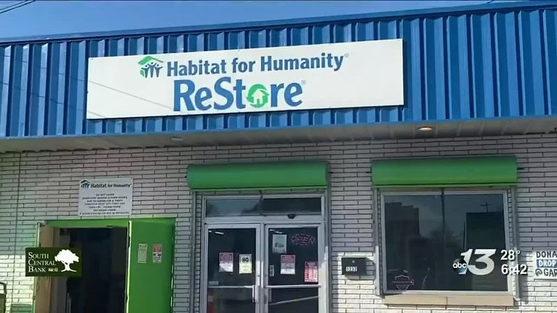 Habitat for Humanity of Bowling Green/Warren County Restore center.