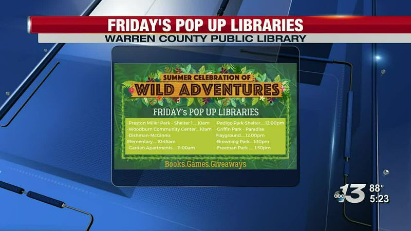 WCPL Pop Up Libraries