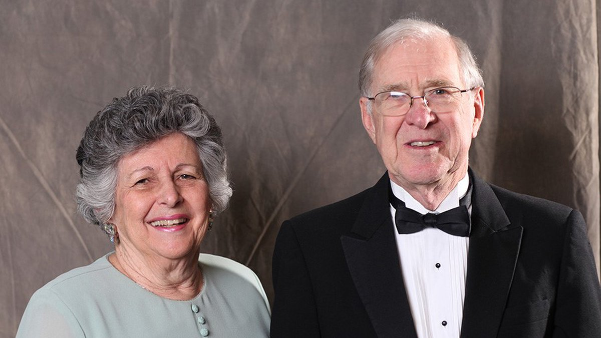 Charles Hardcastle and his wife, Carolyn Hardcastle