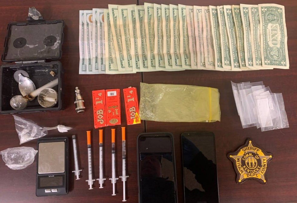 After suspicious activity in a church parking lot, two were arrested on drug trafficking charges.