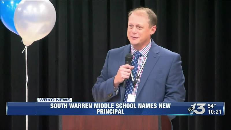 South Warren Middle School names Matt Deaton as new principal