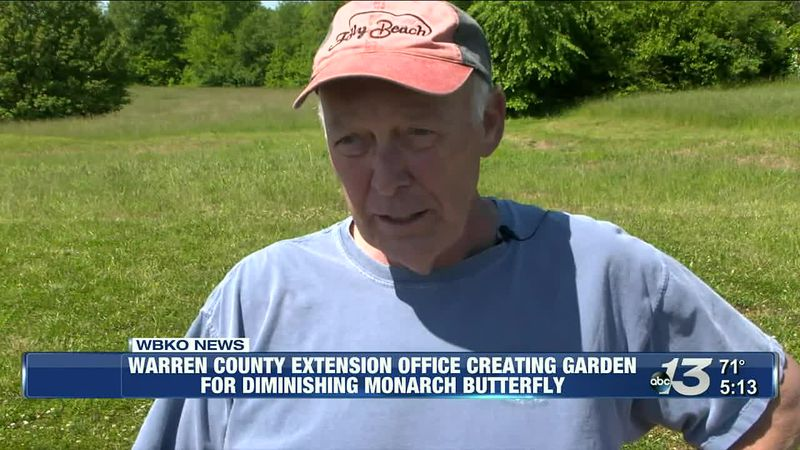 Warren Co. extension office creating waystation for diminishing Monarch Butterfly @ 5