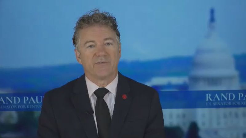 Sen. Rand Paul says he does not plan to get vaccinated against COVID-19 since he already had...