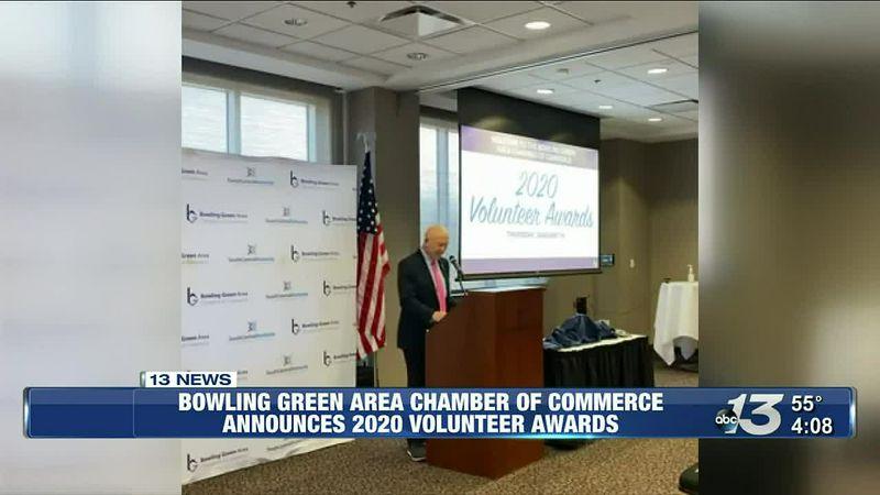 BG area chamber of commerce announces 2020 volunteer awards