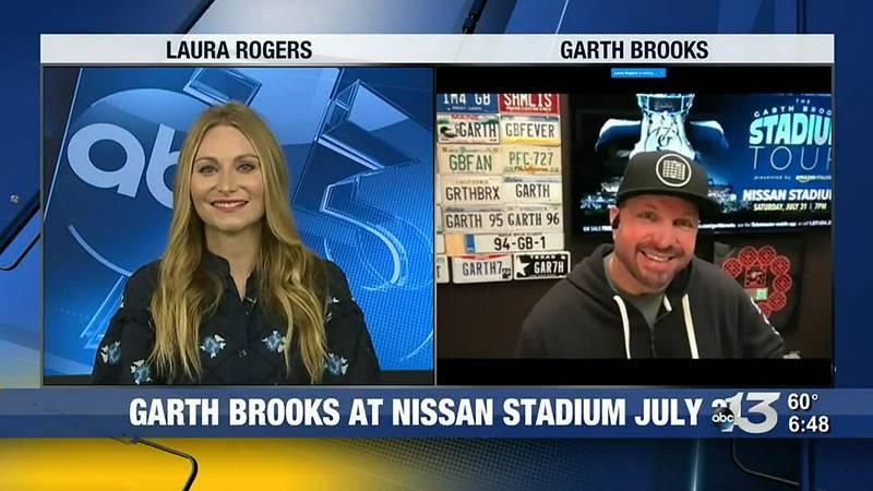 Garth Brooks on AM Kentucky