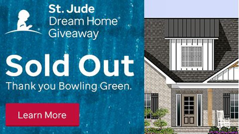 Tickets are sold out for the 2021 St. Jude Dream Home.