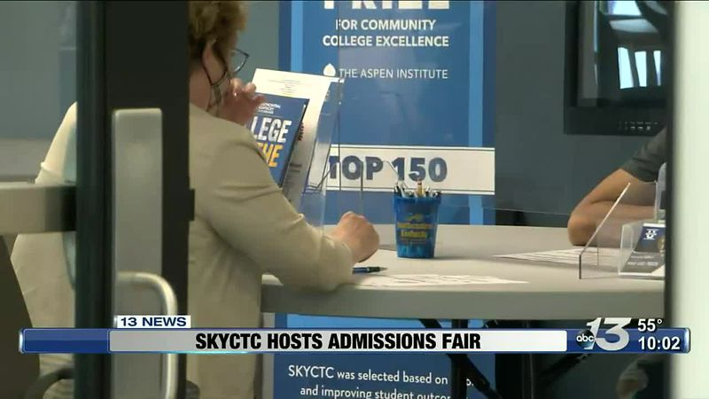 SKYCTC hosts admissions fair