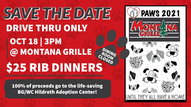 """The Montana Grille """"Paws"""" event is set for October 18 starting at 3:00 p.m."""