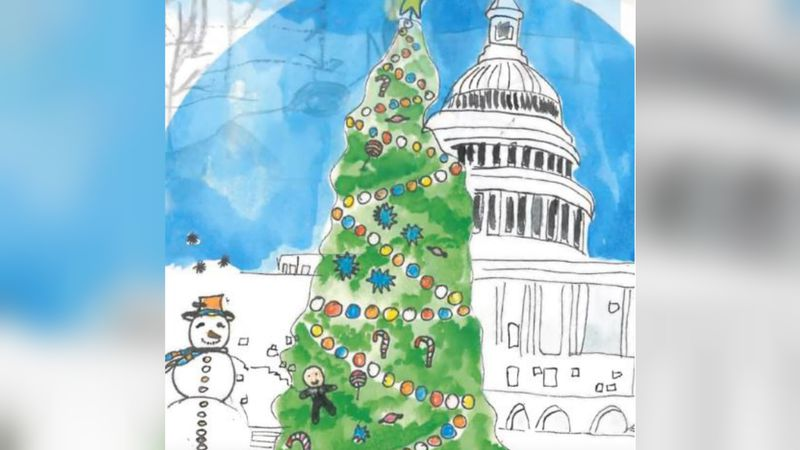 Dishman McGinnis joins 55 other schools across the country  in creating ornaments for the...