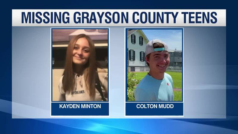 Two teens are missing in Grayson County.
