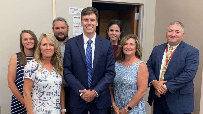 Lee Johnson starts his duties as ATE principal on July 1, 2021.