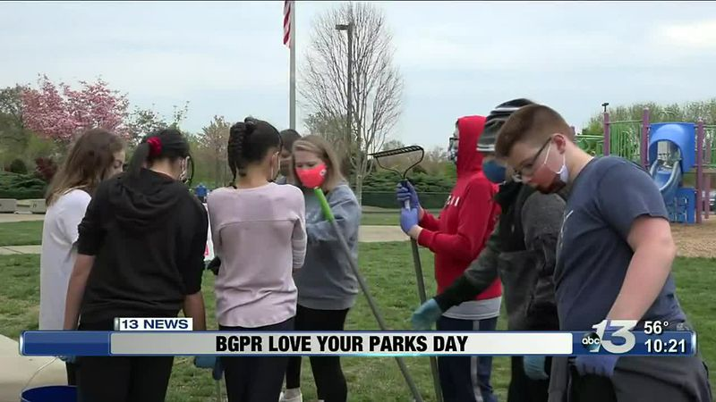 Bowling Green Parks and Rec 'Love your Parks Day'