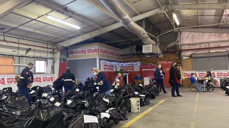 Saturday was the last distribution day for Toys for Tots in Warren County.