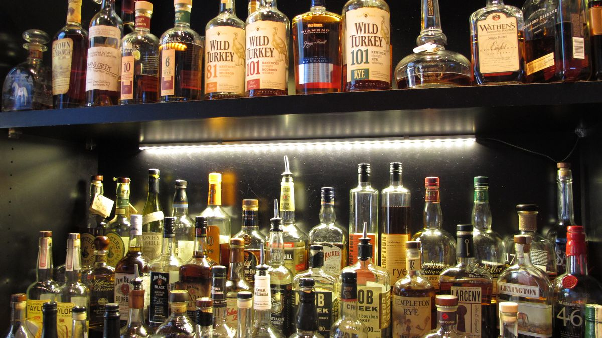 FILE - This Sept. 5, 2014 file photo shows Sidebar at Whiskey Row, a bar that offers more than...