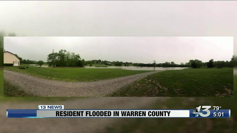 Resident flooded in Warren County