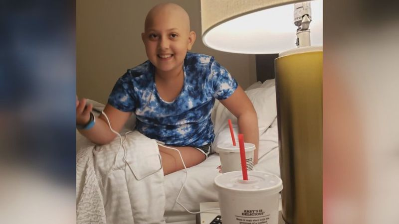 Carmen is an 11-year-old currently battling cancer