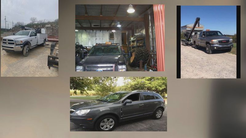 Warren County Sheriff searching for multiple stolen vehicles