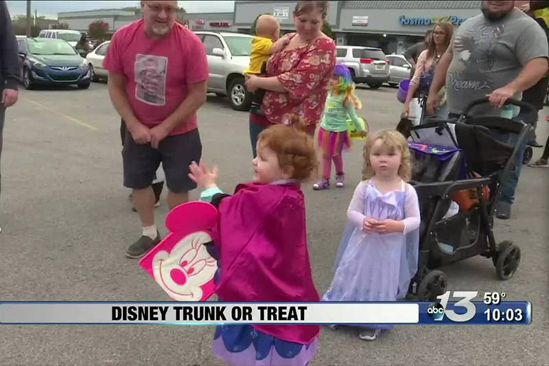 Third annual Disney Trunk or Treat brings the community together ahead of Halloween