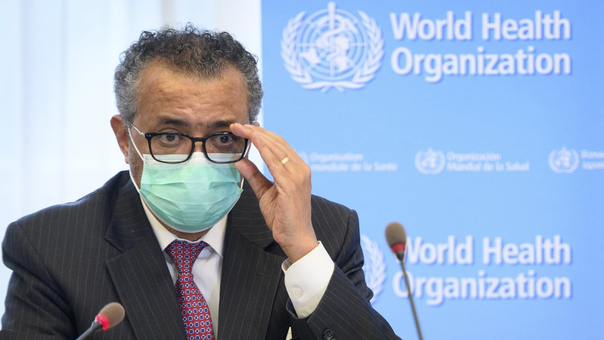 FILE - In this Monday, May 24, 2021 file photo, Tedros Adhanom Ghebreyesus, director general of...