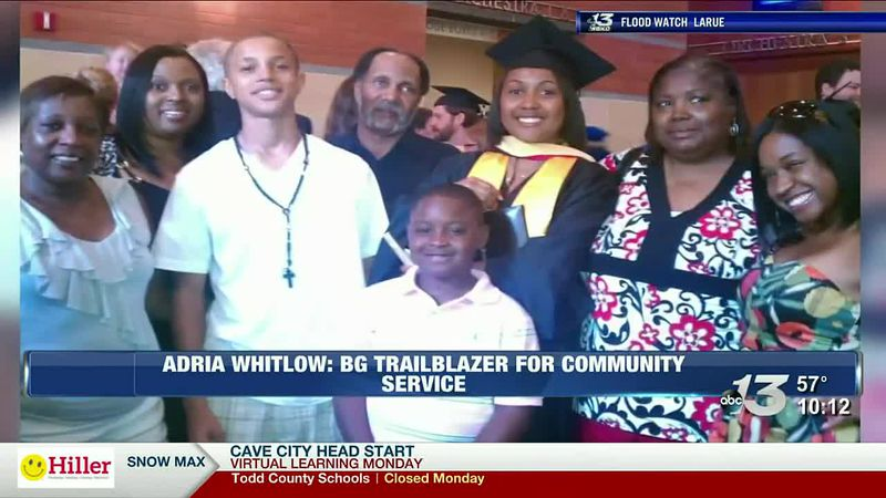 Adria Whitlow: Bg Trailblazers for community service
