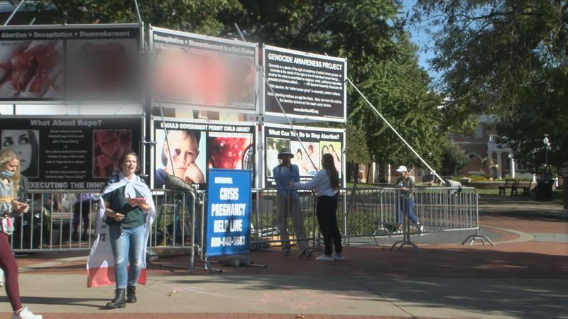 Anti-Abortion Demonstration