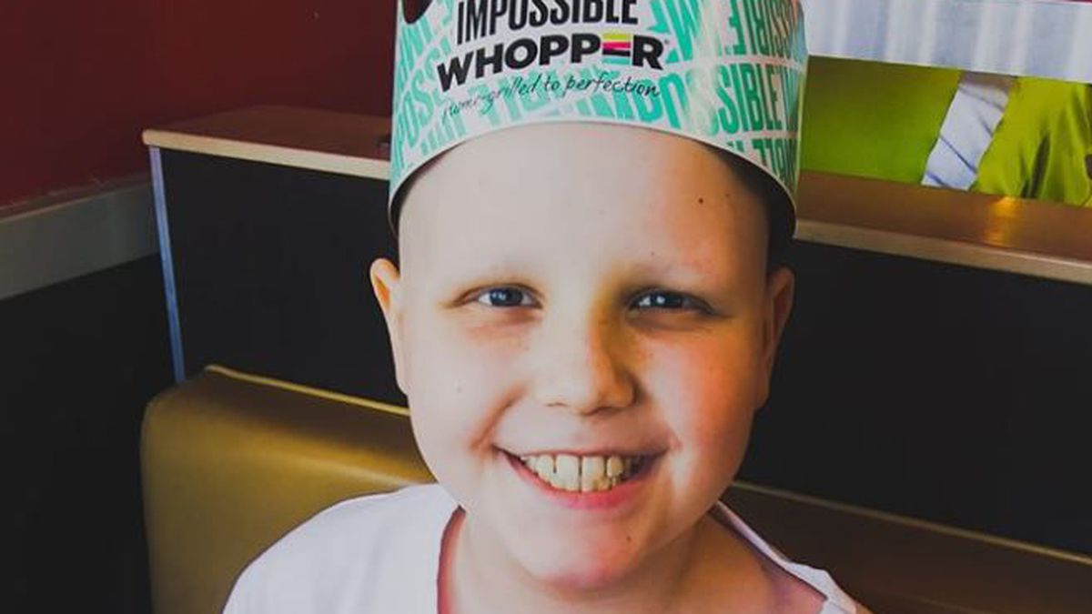 "A Louisville boy nicknamed ""Courageous Carter"" asked for cards for his 10th birthday. (Source: Jeremy Willett)"