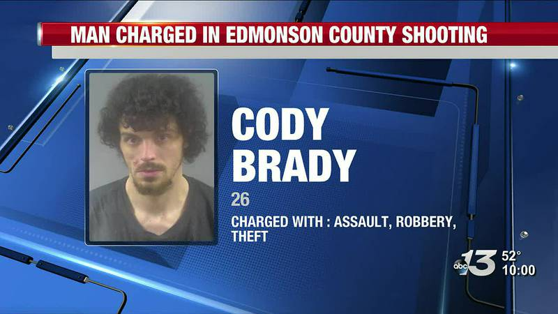 Man Charged in Edmonson County Shooting