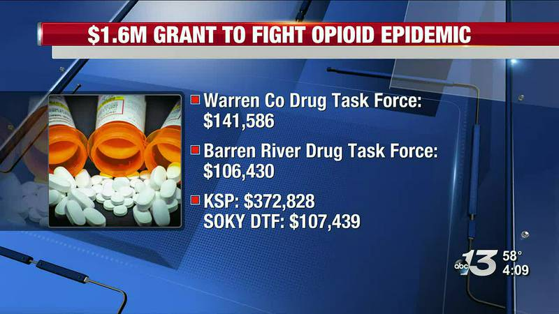 $1.6M Grant to Fight Opioid Epidemic