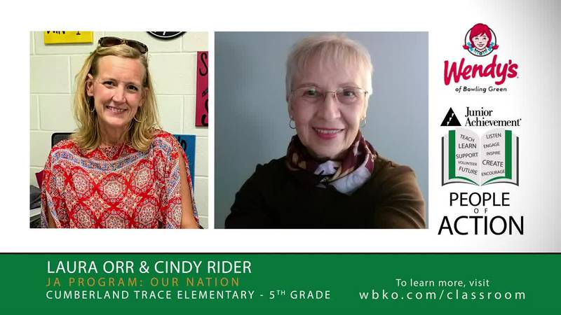 This week's JA People of Action are Laura Orr and Cindy Rider