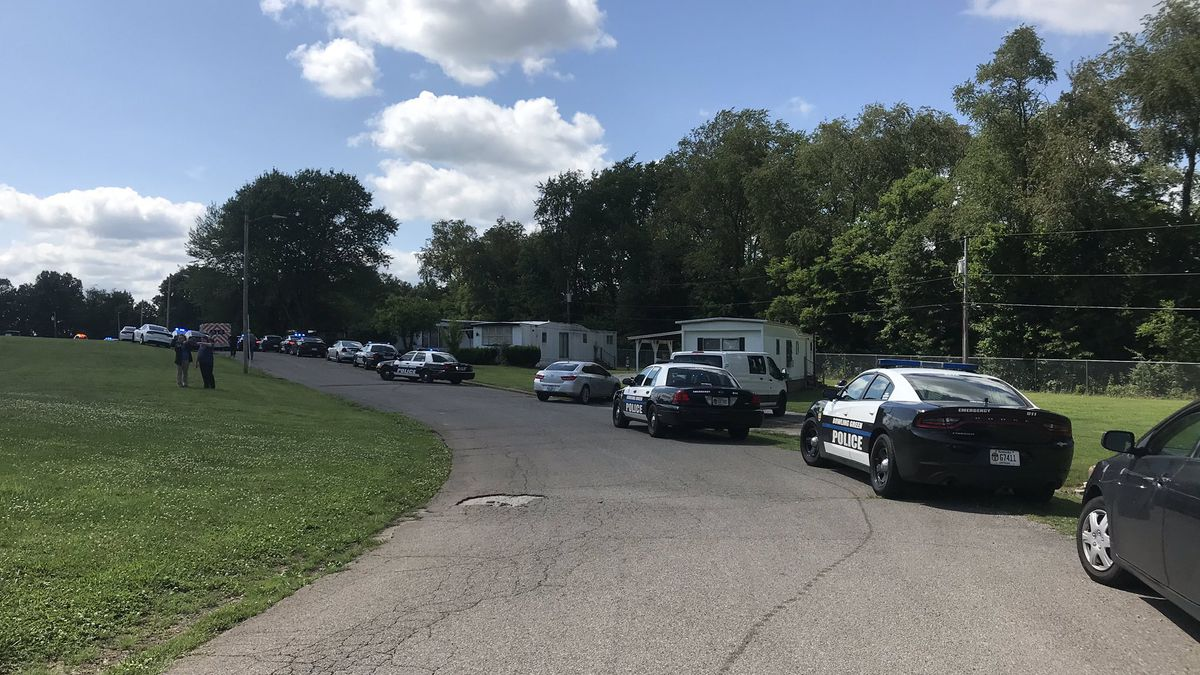 Police are at the scene of a shooting on 3509 Nashville Road.