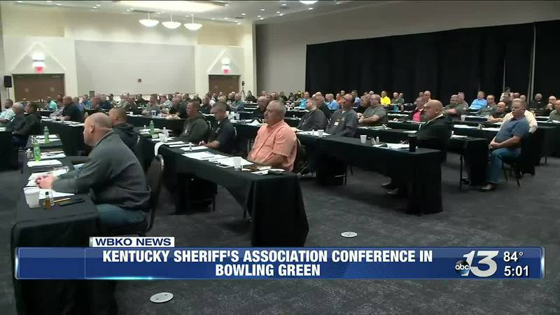 Kentucky Sheriff's Association Conference in Bowling Green @ 5