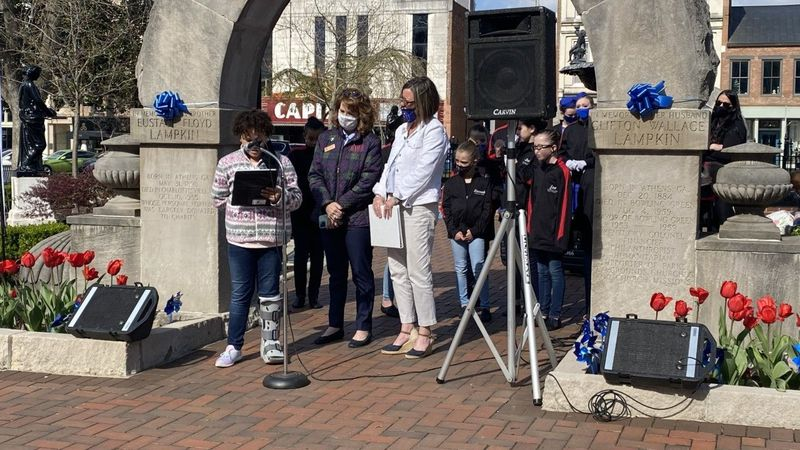 On Thursday an event was held at Fountain Square Park in Bowling Green to bring awareness to...