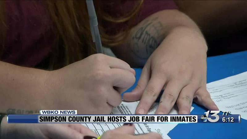 Simpson County Jail Host Job Fair for Inmates