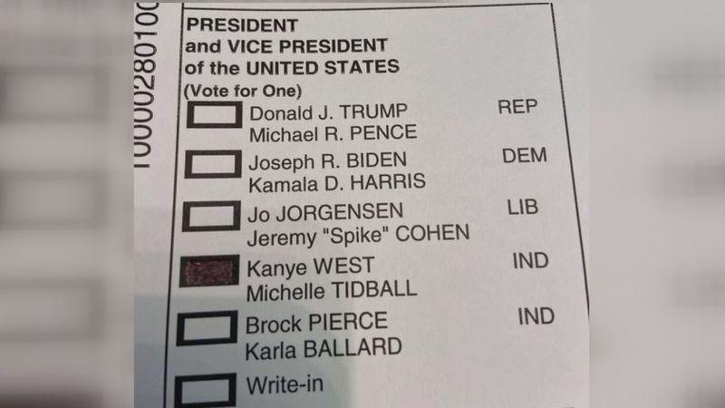 Kanye West vote