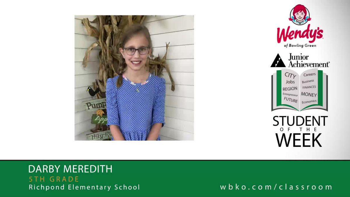 JA Student of the Week is Darby Meredith