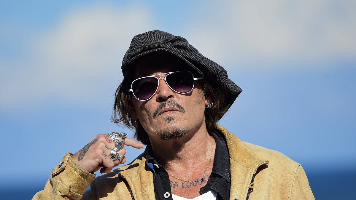 """Johnny Depp, 57, branded his ex-wife Amber Heard's allegations of domestic violence """"sick"""" and..."""