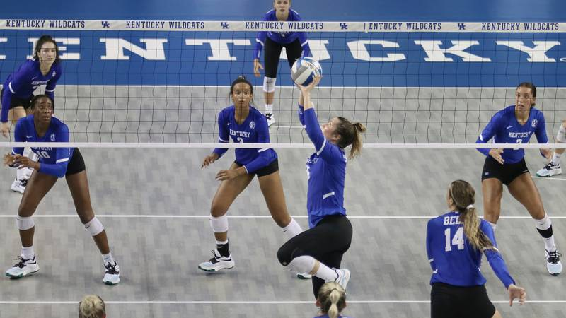UK Volleyball opens the season as the No. 3 team in the country.