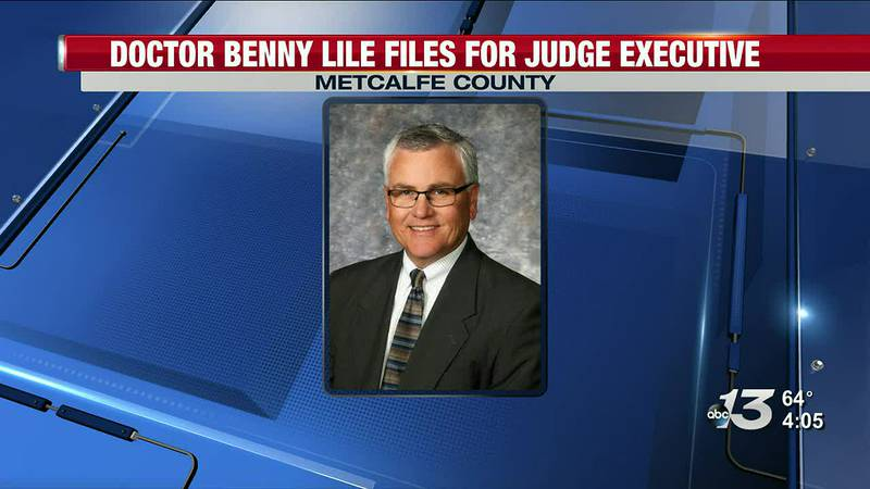 Dr. Benny Lile Files for Judge Executive