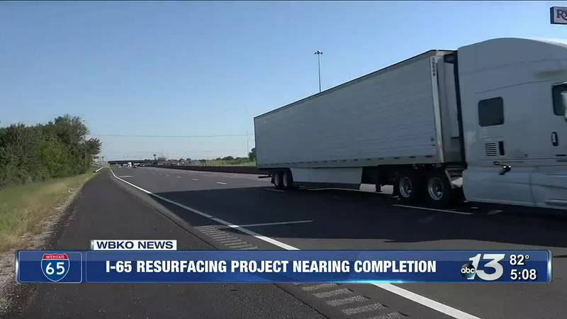 A project to resurface a section U.S. 68 Russellville Road in Bowling Green begins