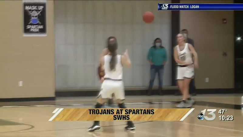 Trojanettes vs Lady Spartans