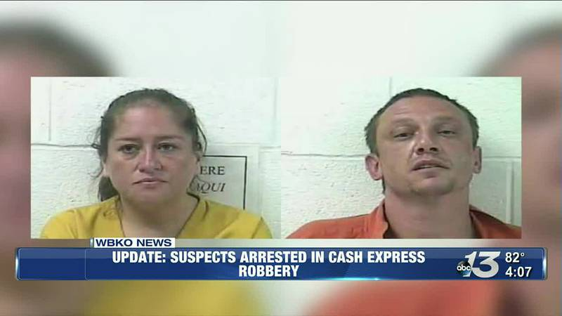 Suspects Arrested In Cash Express Robbery