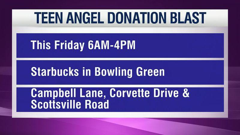 Teen Angel Donation Blast