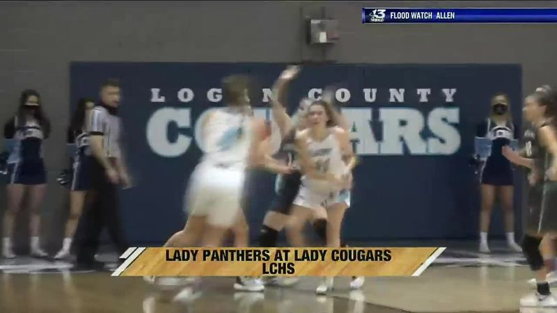 Lady Panthers vs Lady Cougars