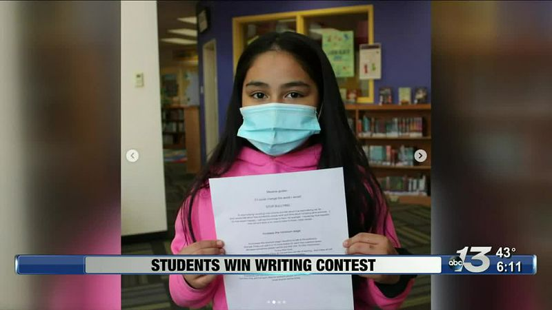 Good News: Students win Writing Contest