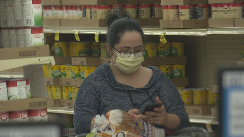 Some fully vaccinated people continue to wear masks in public.