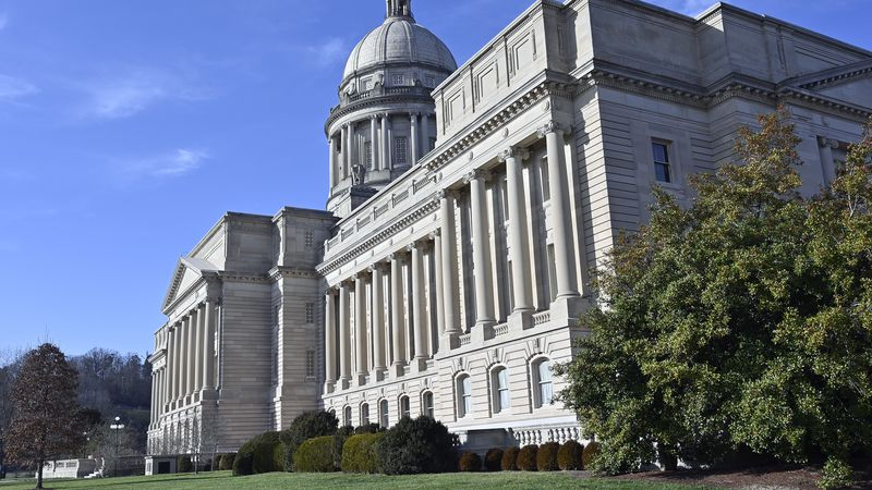 Exterior of the Kentucky State Capitol in Frankfort, Ky., Tuesday, Jan. 14, 2020. (AP...