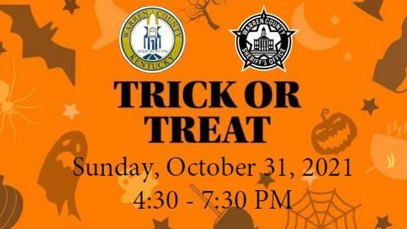 Halloween 2021 Trick or Treat day and time for Warren Co.
