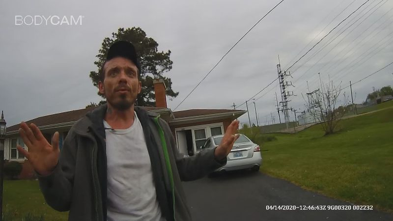 Jeremy Marr arrest bodycam footage