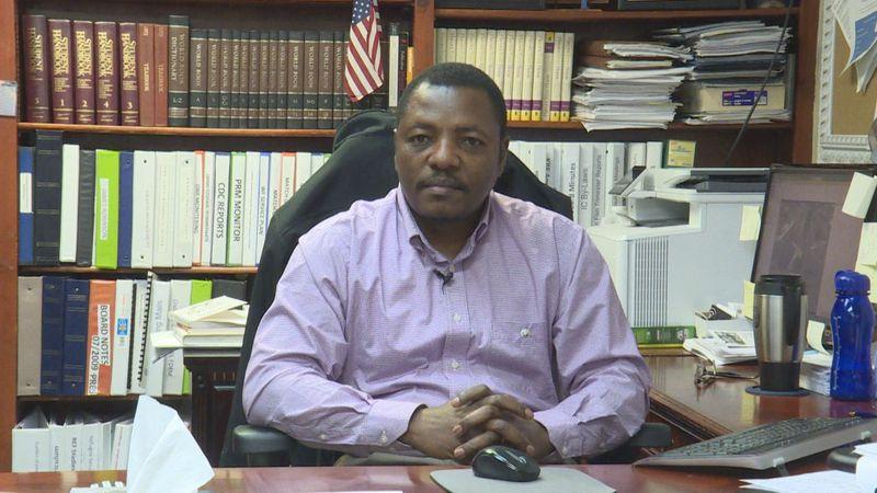 Albert Mbanfu, Executive Director of the International Center of Kentucky in Bowling Green