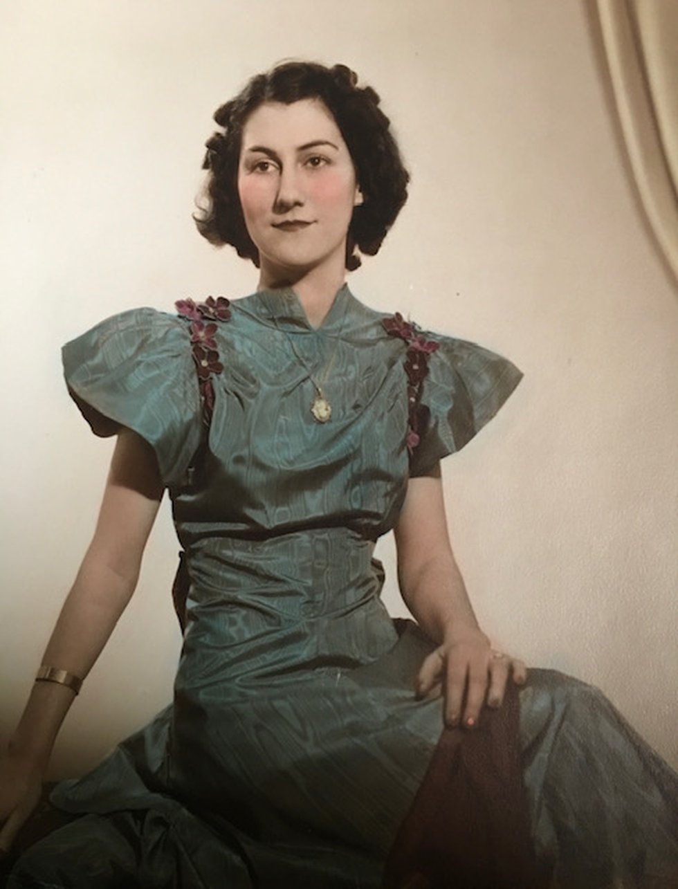 Kathryn Gilbert as a young woman.